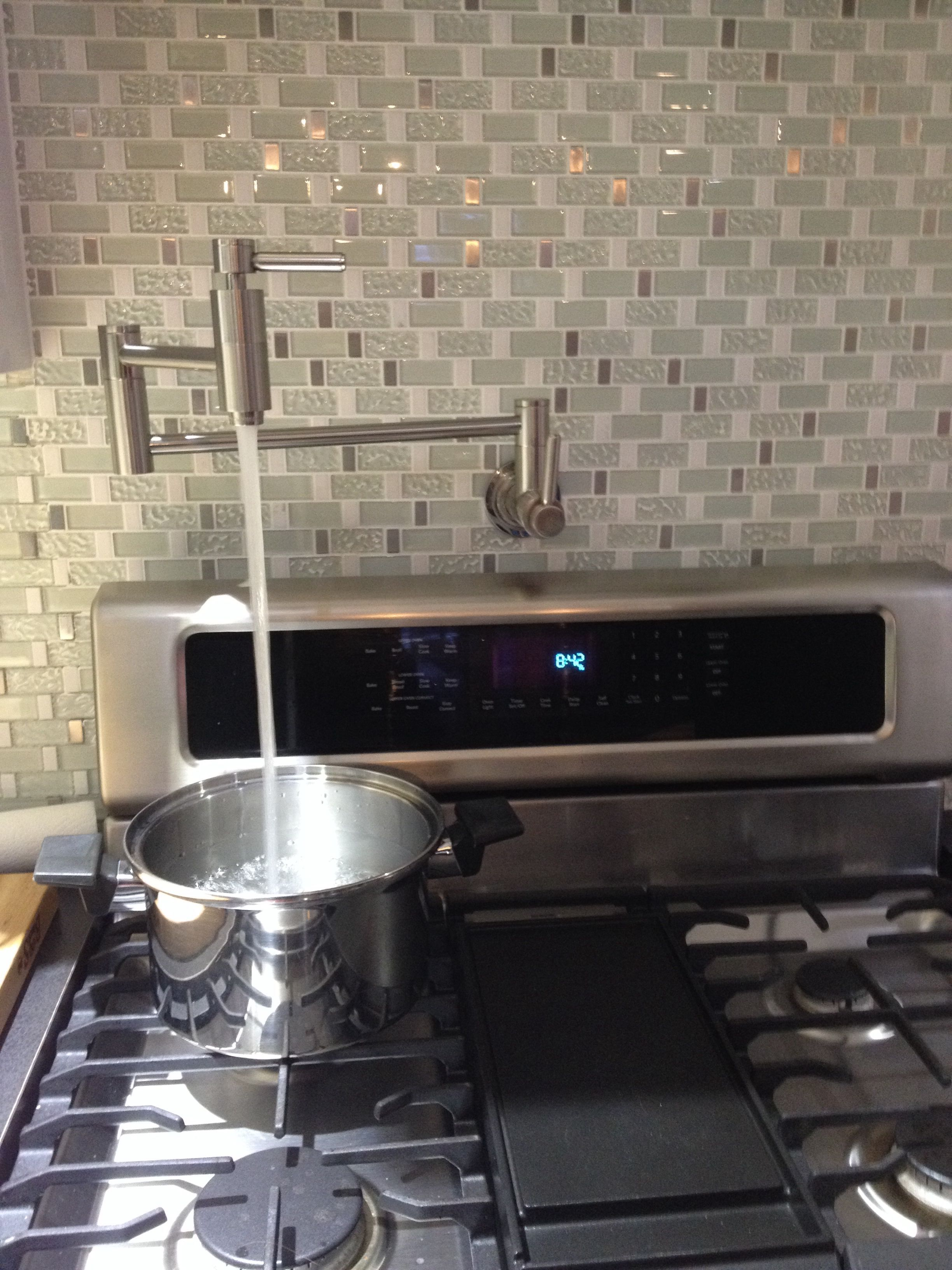 Water Faucet Over Stove Kitchen Ideals Pot Filler Kitchen Diy