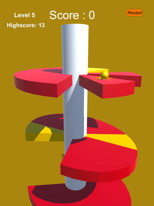 Helix Jump Game - Unity 3D Game for Android, IOS with Admob