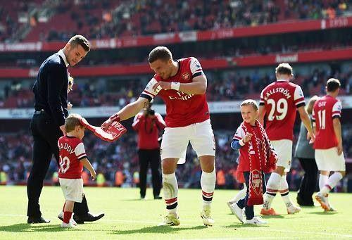 Arsenal Family Lukas Podolski West Bromwich Arsenal