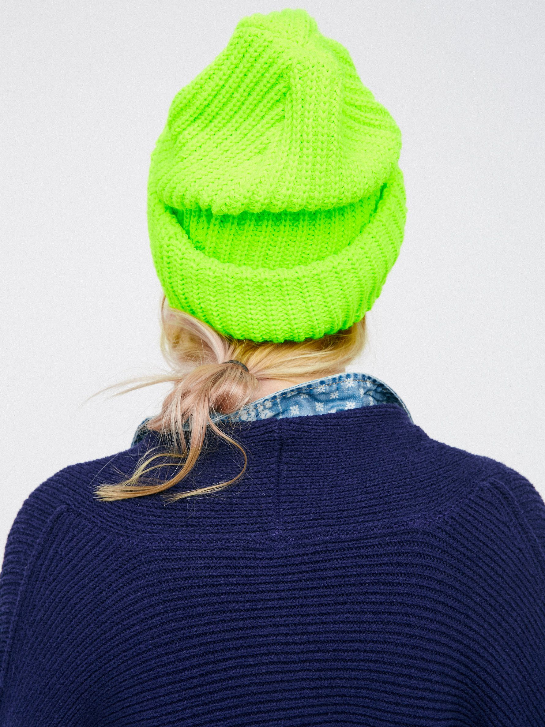 How to knit wear beanie hats
