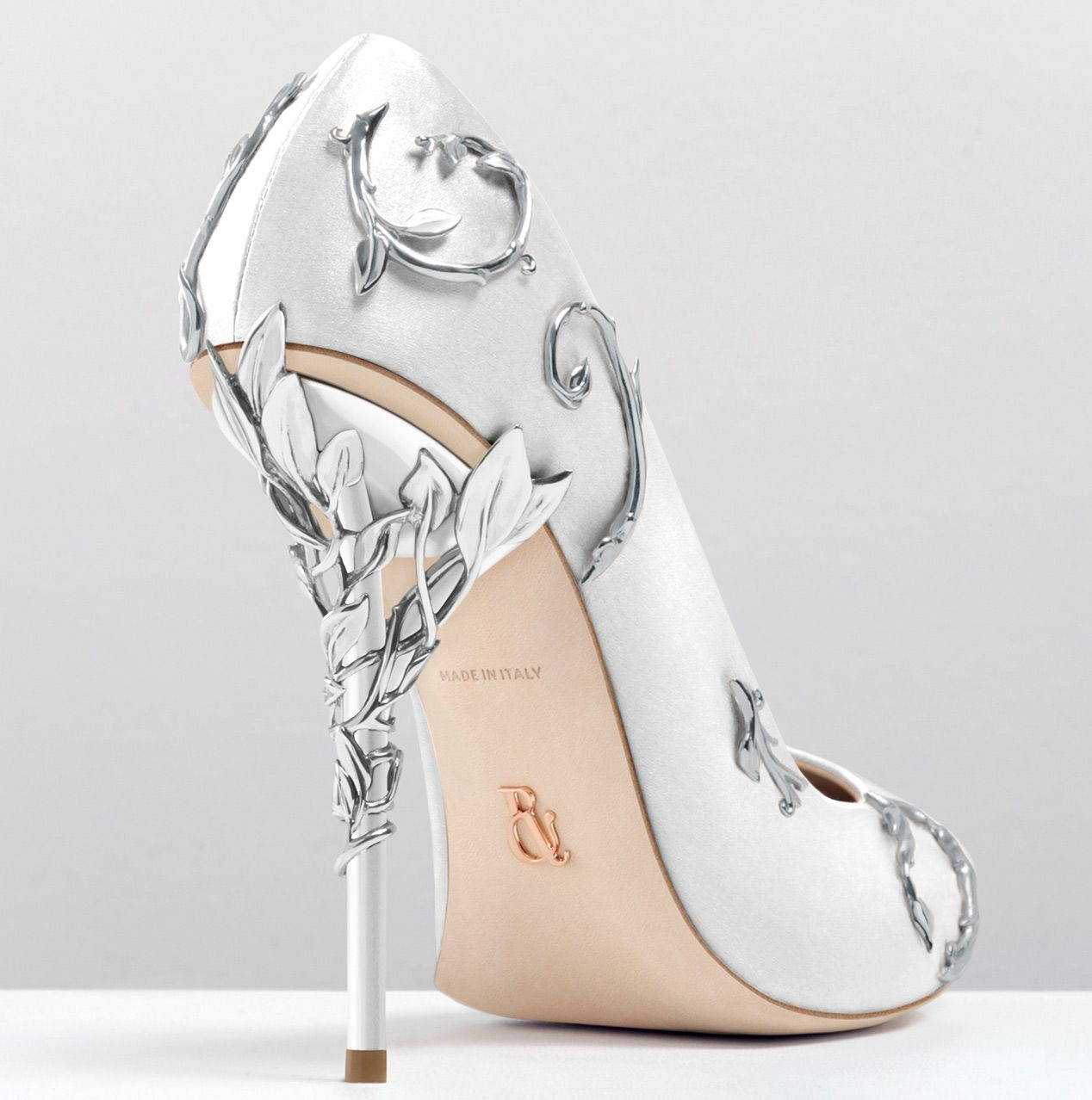 Ralph Russo Silver Heels Promsilver Shoes Heelswhite Wedding