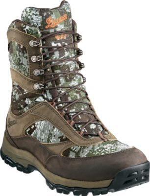 Danner High Ground 400 Gram Hunting Boots Sitka Optifade Concealment Forest Boots Hunting Boots Bow Hunting Gear