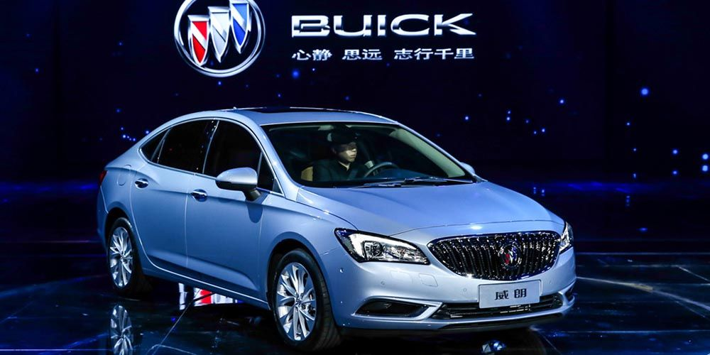 2018 Buick Verano Become Chinese Model Only Kitaj