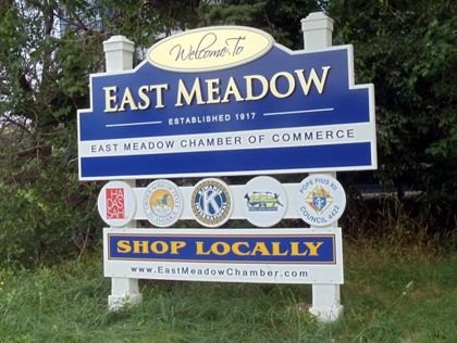 East Meadow Long Island New York East Meadow Long Island Ny Entrance Sign