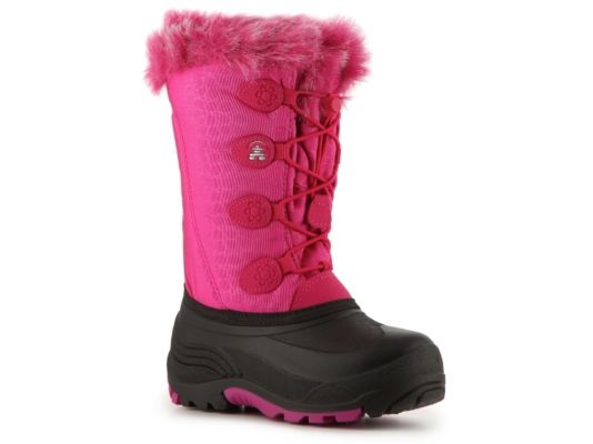 Women's Kamik Snowgypsy Girls Toddler & Youth Snow Boot - Pink/Black