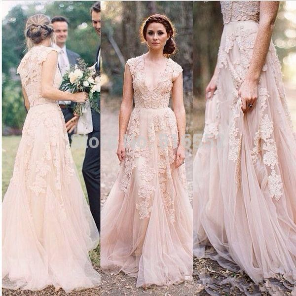 vestidos de novia romanticos y vintage con encaje - buscar con