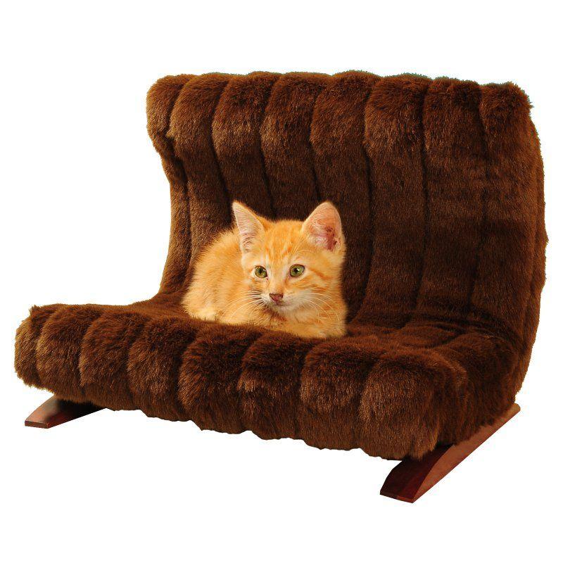 KEET Modern Faux Pet Bed Brown - BM42