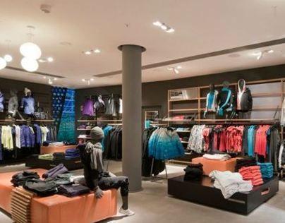 Esprit Sports Shop Concept Cue Architekten Sports Shops Shopping Esprit