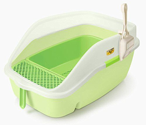Catidea Luxury Sifting Cat Litter Box With High Back And Sides Cl3 More Info Could Be Found At The Image Url This Is Cat Litter Box Litter Box Cat Litter