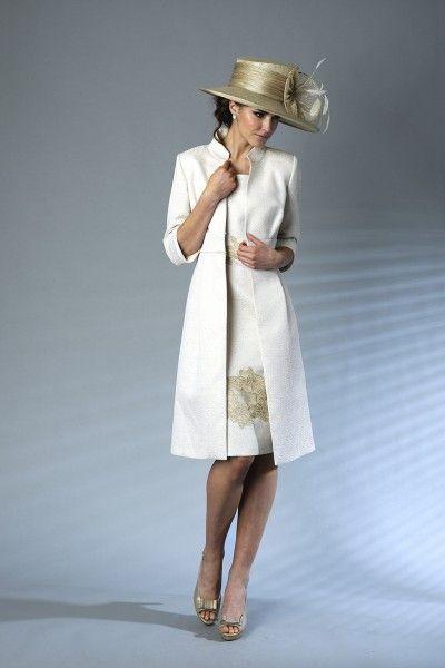 Free Long Coat Short Jacket Mother OF THE Bride Groom Dress Women ...