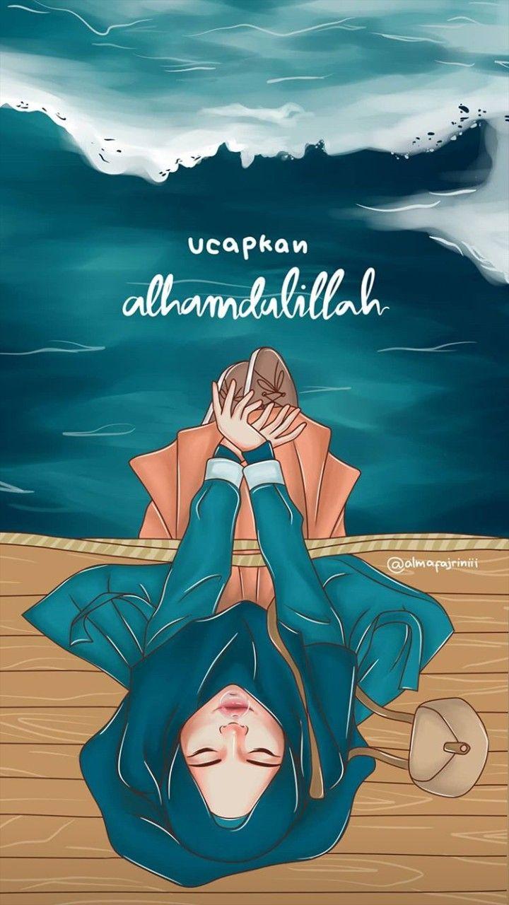 Pin oleh Nurlita di anime muslimah Elit (Dengan gambar