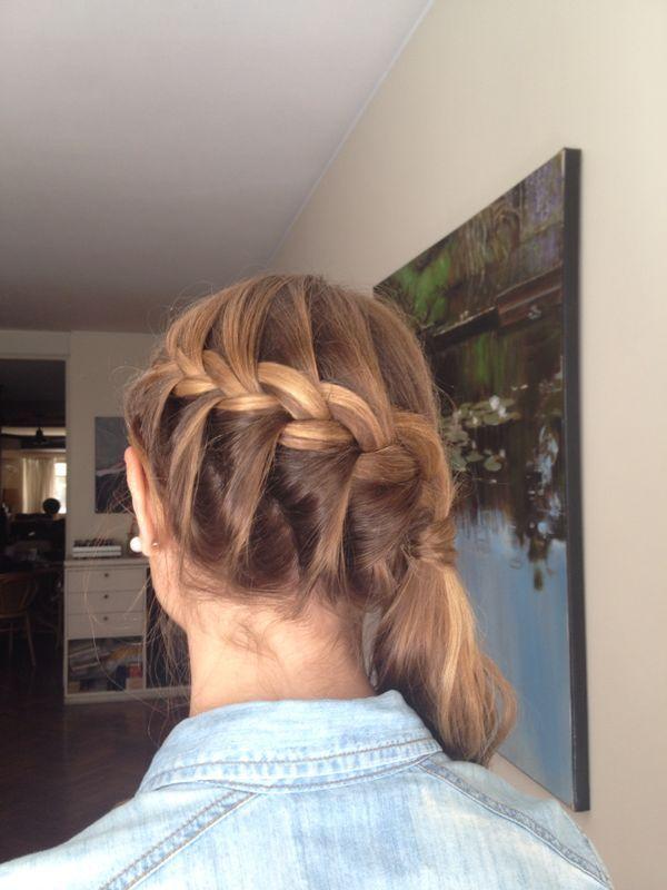 Peinados recogidos con rulos en las puntas
