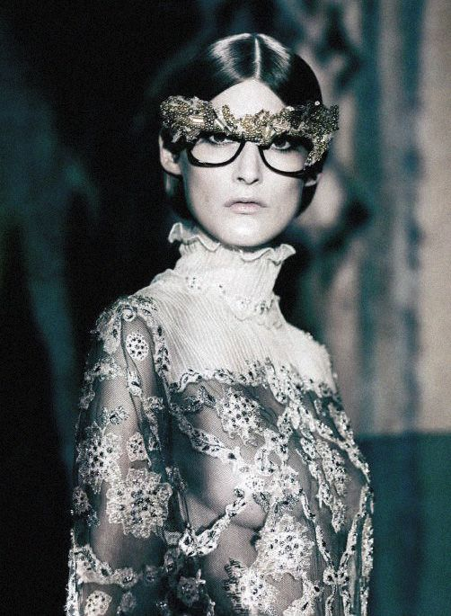 """""""A Lady in Spring"""" Marie Piovesan photographed by Paolo Roversi for Vogue Italia March 2012"""
