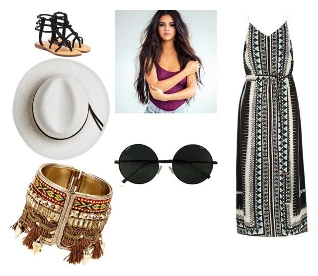 """""""summer time"""" by mathildepl07 on Polyvore featuring mode, River Island, Mystique et Calypso Private Label"""