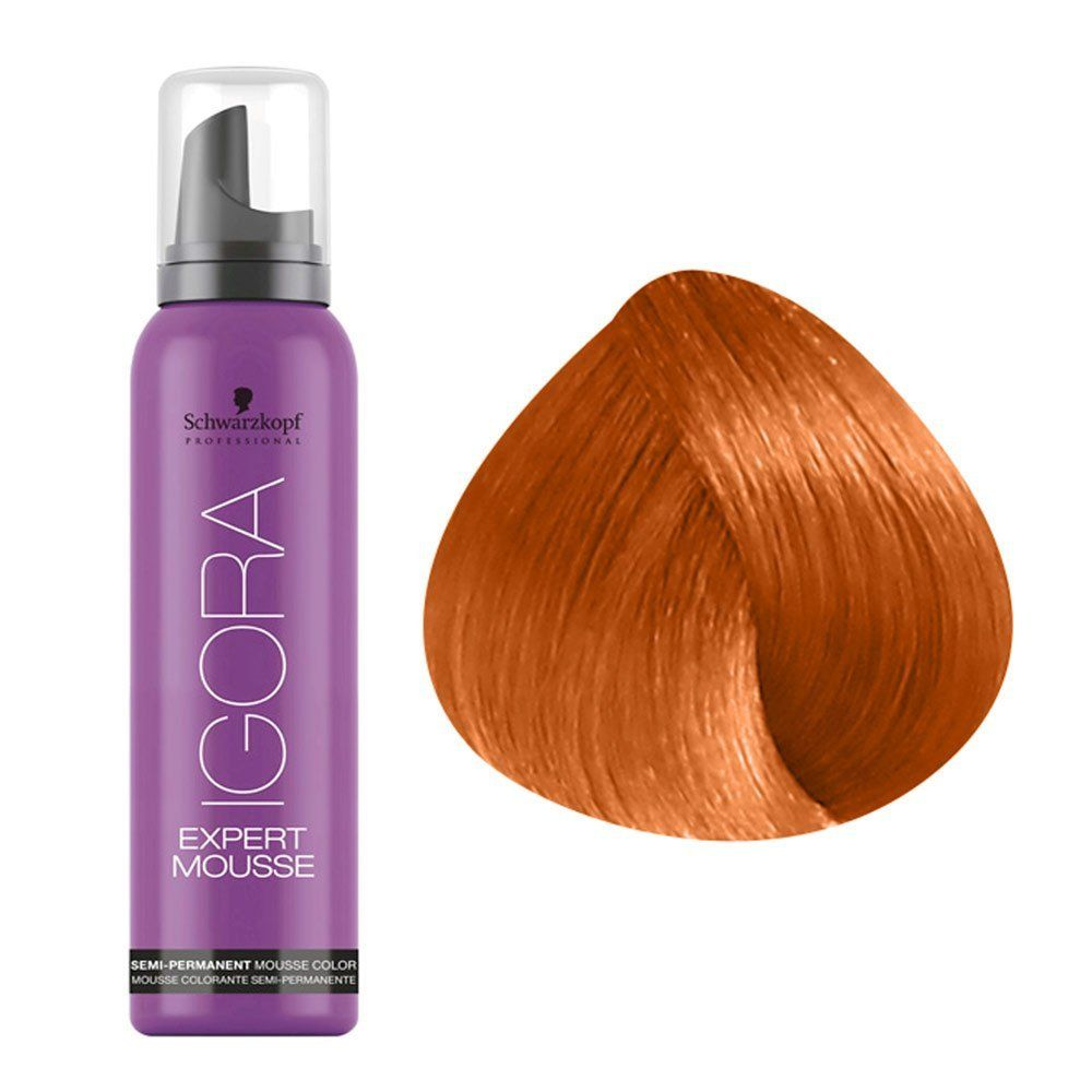 bd8b8c2572 Schwarzkopf Igora Expert Mousse 8-77 Light Blonde Copper Extra 100 ml / 3.2  oz ** Check this awesome product by going to the link at the image.