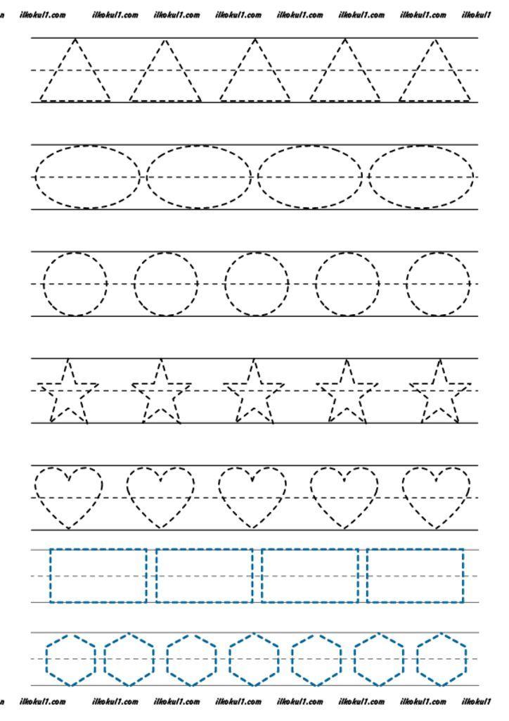 Thumbnail Of Dik Temel Harfler Cizgi Calismalari 9 Alphabet Worksheets Preschool Preschool Tracing Preschool Writing
