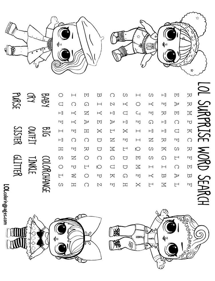 L Word Coloring Pages