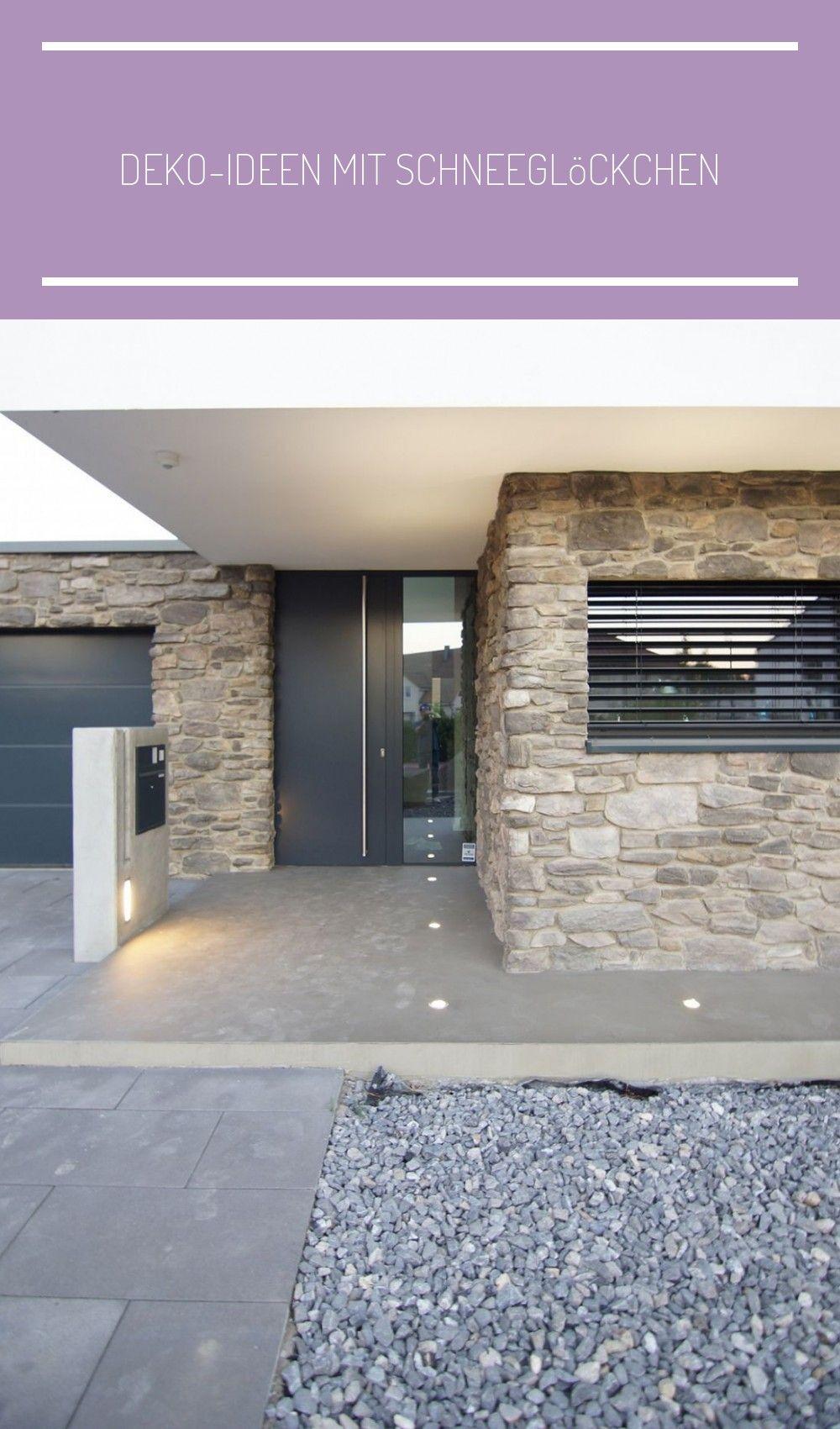Deko Ideen Mit Schneeglockchen In 2020 House Exterior House