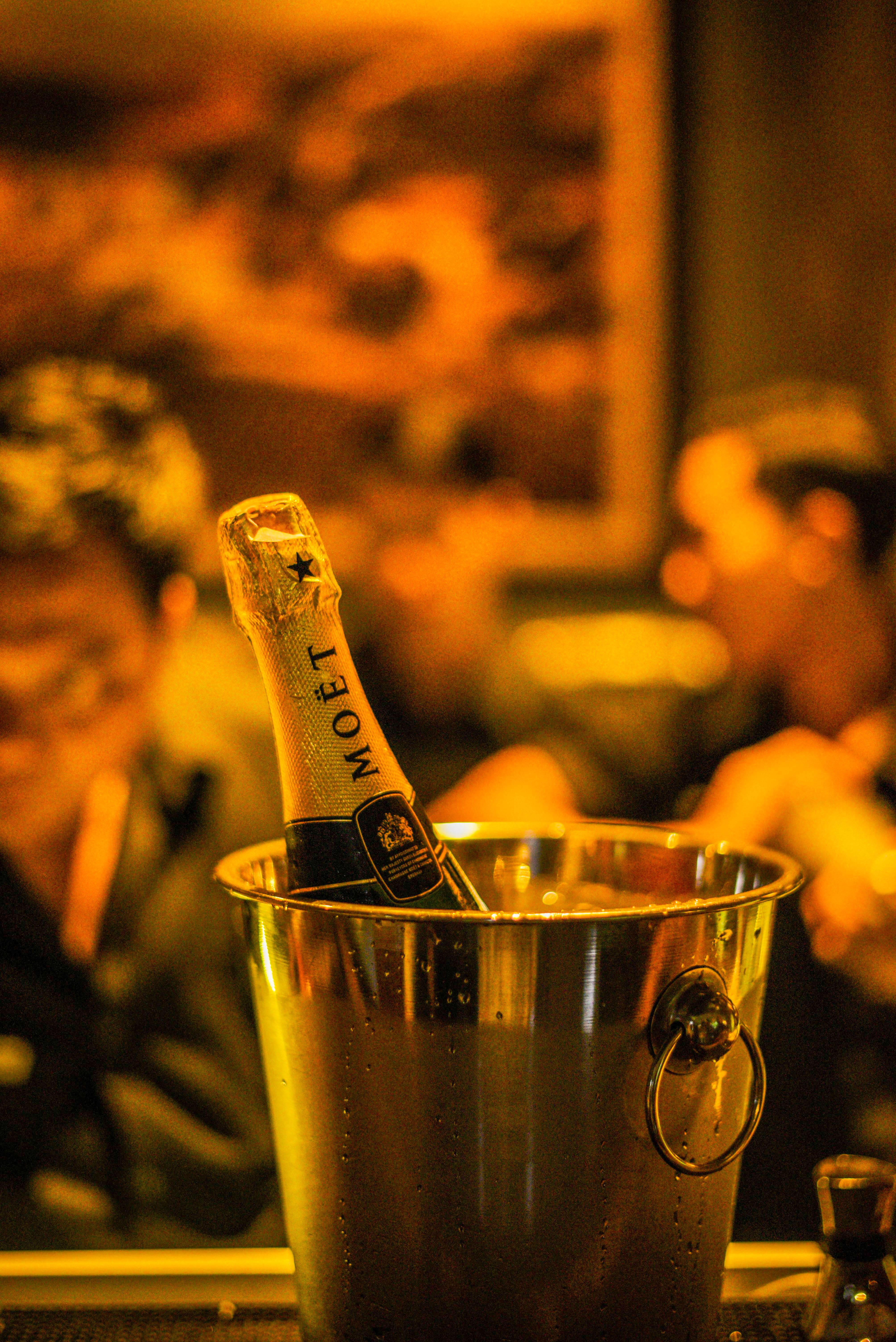 2020 with the best champagne from bridges Bali