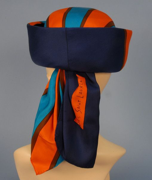 EMME YSL SCARF HAT, 1960's