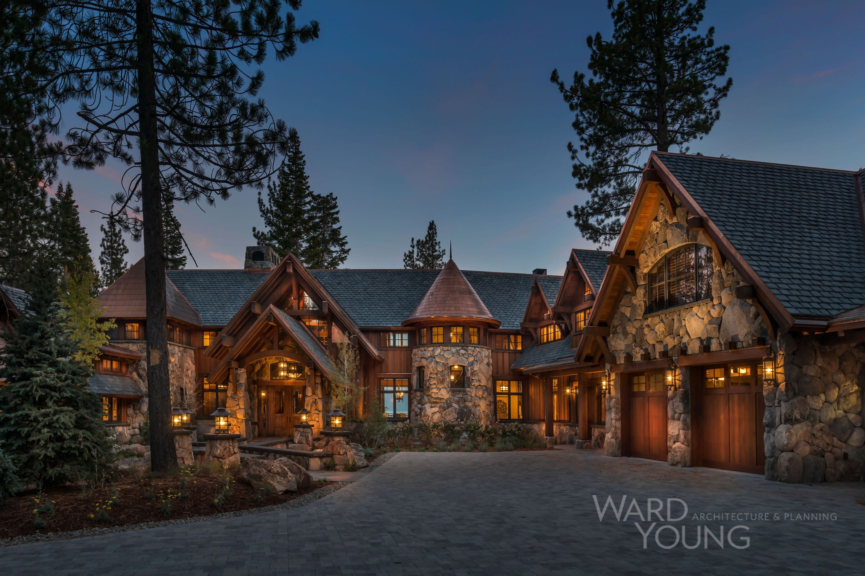 Tahoe Lakefront Projects Ward Young Architecture