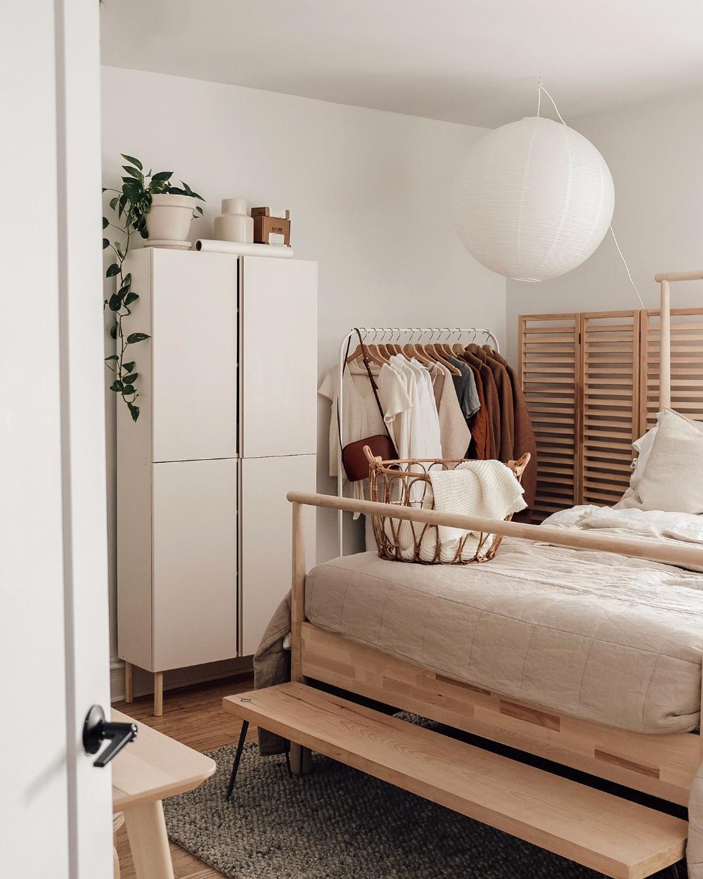 A Japandi-inspired bedroom by Brook & Peony - IKEA A Japandi