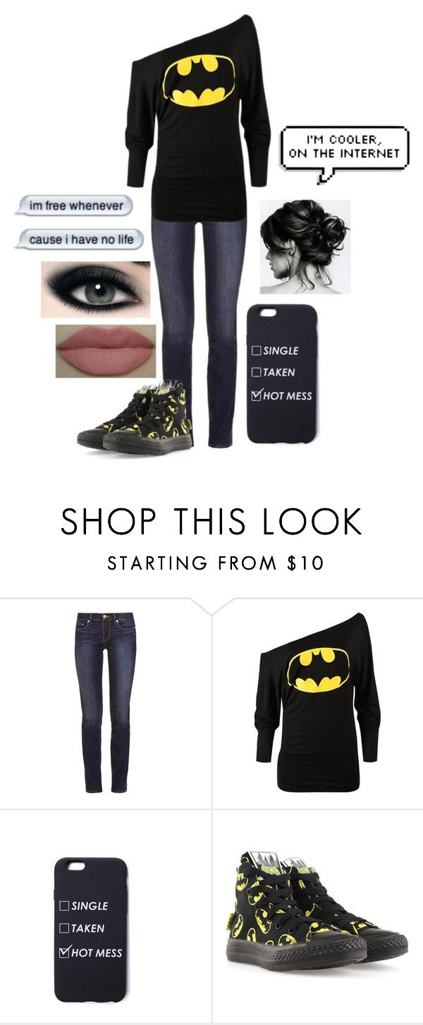 """What?? - Funny Story"" by that-awkward-fangirl ❤ liked on Polyvore featuring Tory Burch and Converse"
