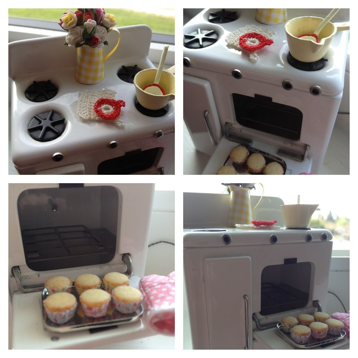 1 12 scale gas stove perfect for baking mini cupcakes it u0027s a