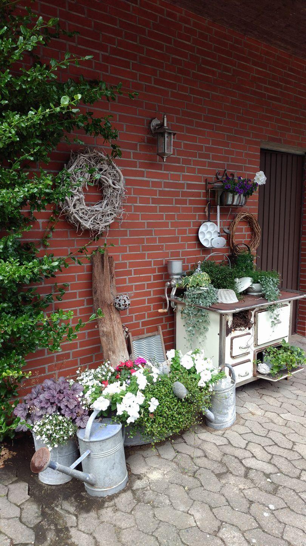 Meine Sommer Hexe Palettengarten Gartengestaltung Ideen Garten