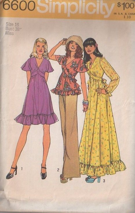 Pin On Vintage Sewing Patterns Clothing