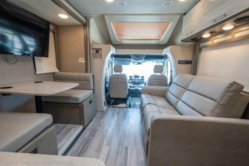 2020 thor motor coach compass 24sx luxury b mercedes