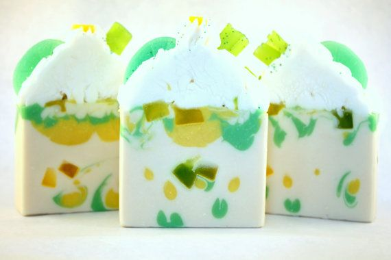 Coconut Lime Verbena Soap / Artisan Soap / Cold by RoyaltySoaps, $7.00