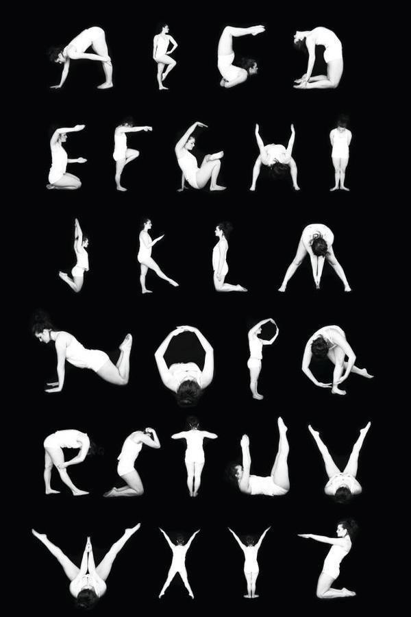 Alphabet Tanzen