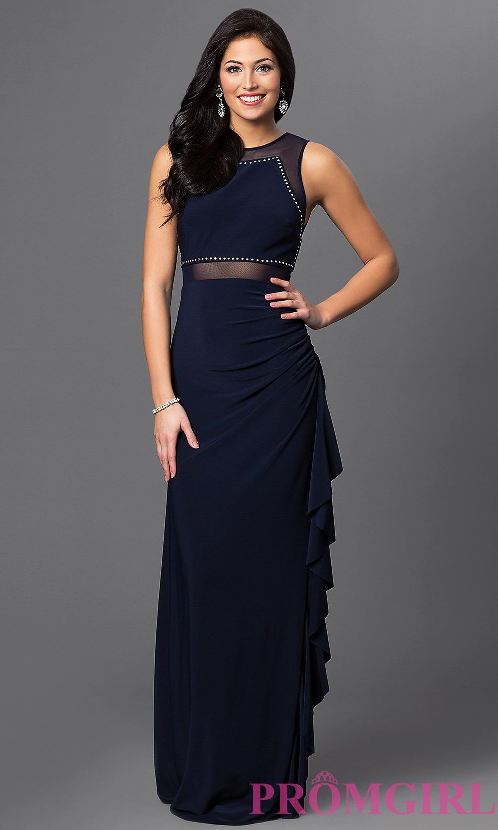 Style bn front image prom dresses pinterest illusion