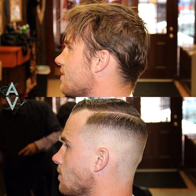 Before And After Classic Undercut Mens Style Pinterest Hair
