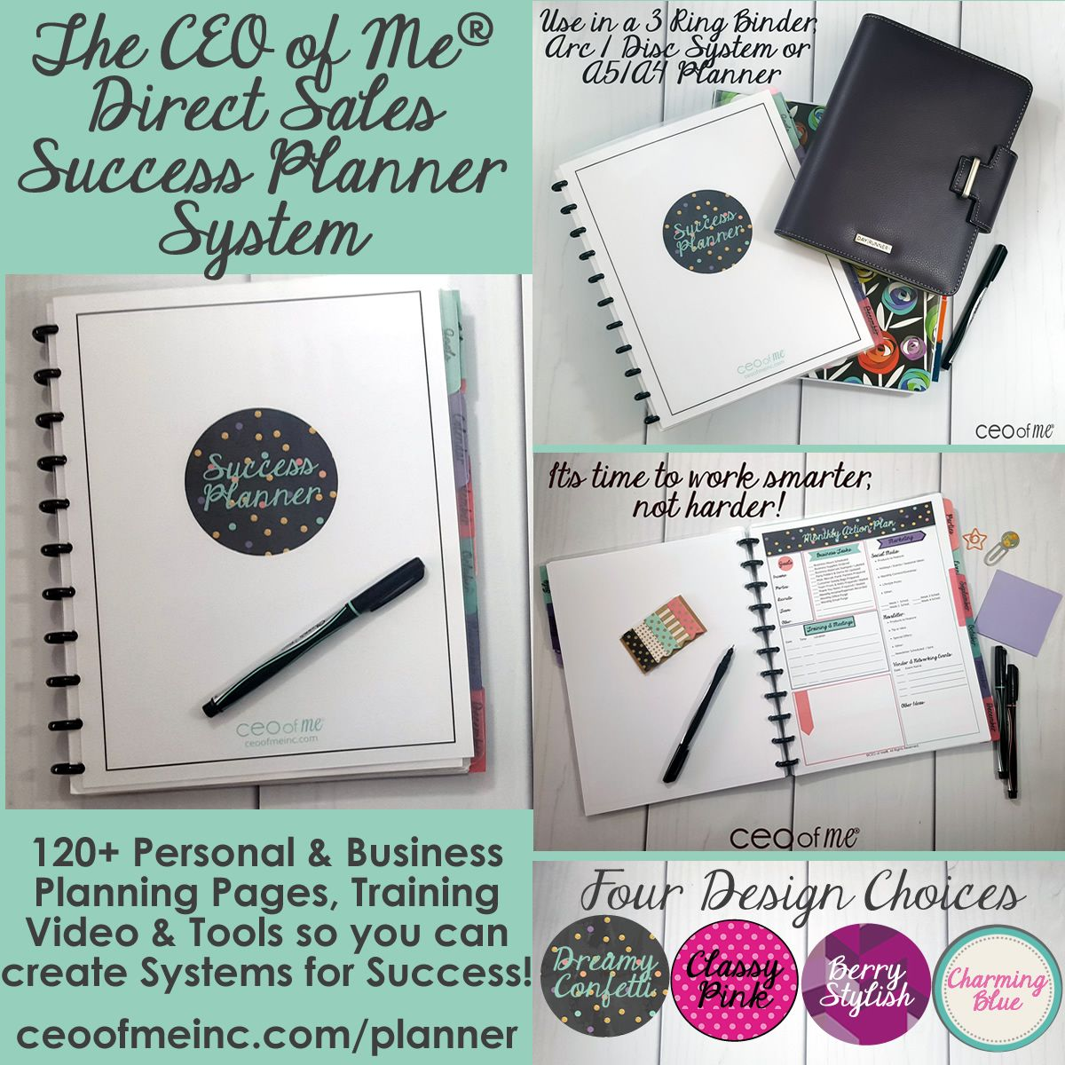 Direct Sales Network Marketing Printable Planner Systems Toolkit #scentsylaborday