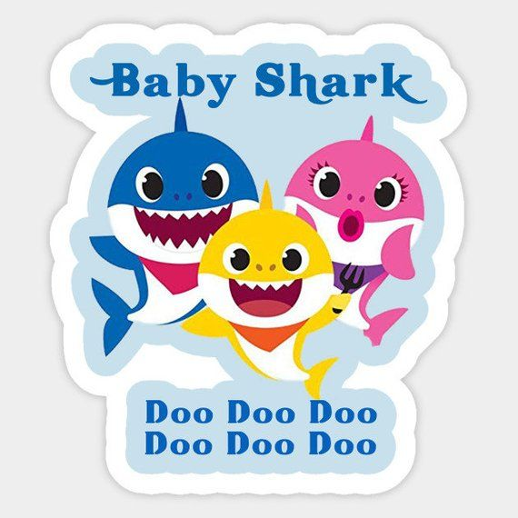 Baby Shark SVG FIle for Cricut Design Studio | Products in