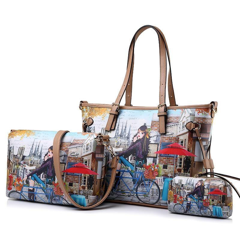 e602a2ec5a Realer Women s Handbag Tote Purse Shoulder Bag Pu Leather Fashion Top  Handle Designer Bags for Ladies