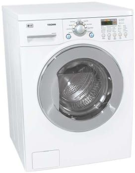 Lg Wm3431hw 24 Inch Washer Dryer Combo With 2 44 Cu Ft Capacity
