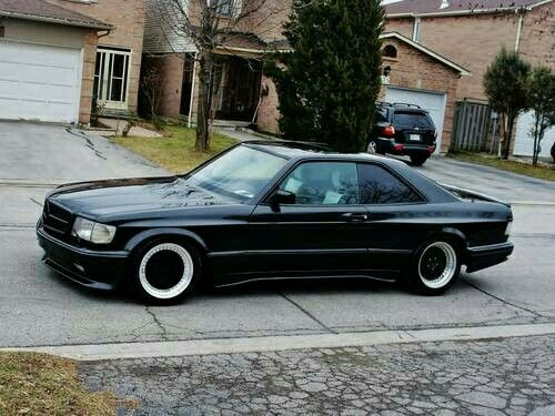 Amg 560 Sec Wide Body With Images Mercedes Car Mercedes W126