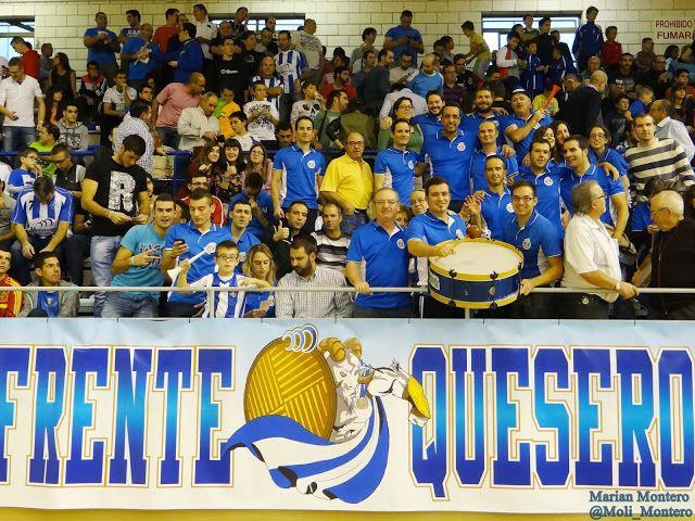 Afición Jumilla. Frente Quesero. Montesinos Jumilla - ElPozoMurcia. Fotos: Marian Montero @Moli_Montero