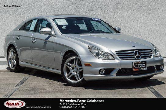 Sedan, 2007 Mercedes Benz CLS 550 With 4 Door In Calabasas, CA (91302)