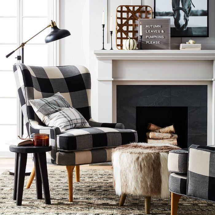 cheswold wingback chair  threshold™  living room decor