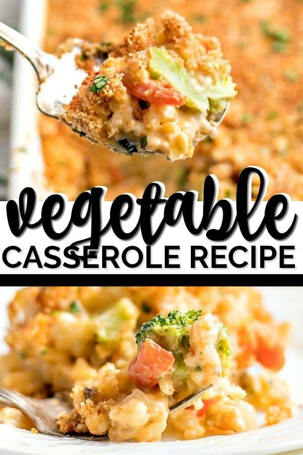 Easy Vegetable Casserole Recipe