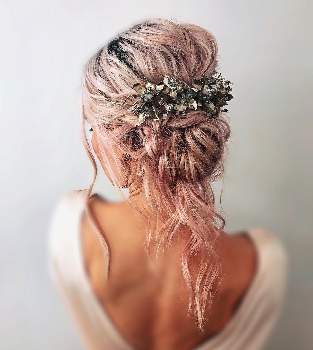Textured Updo Hairstyle Best Recipes Fashion On Trendshairstyles