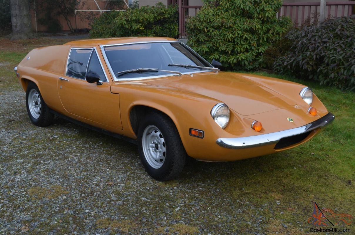 Lotus Europa Europe Classic British Sports Car Photo