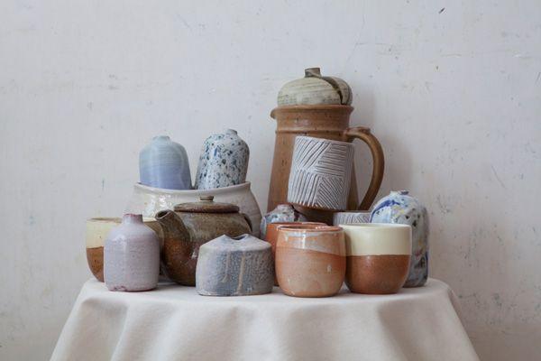 ( ceramic pile - patriciayenawine, jessica niello, daren wilson ceramics )