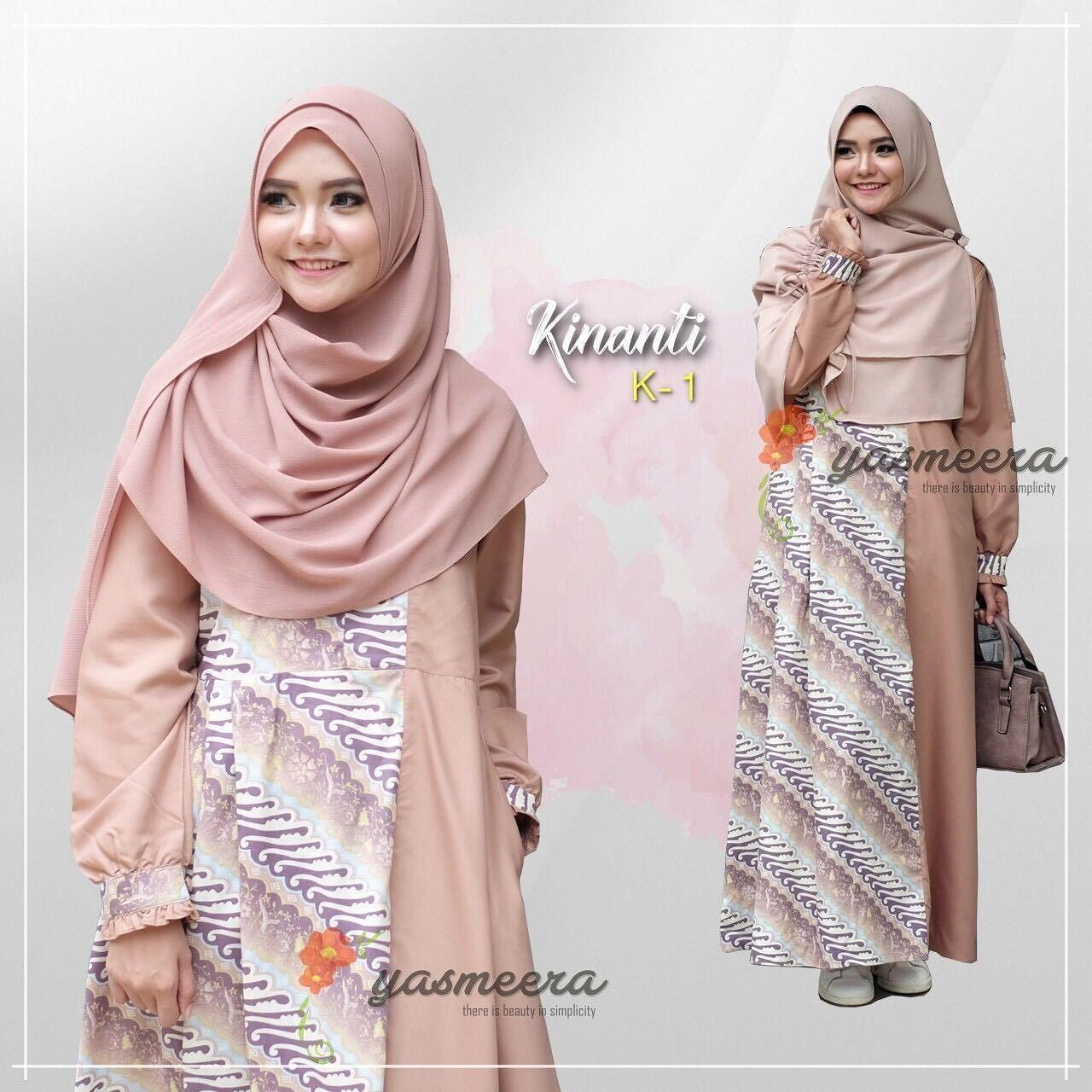 Gamis Yasmeera Kinanti Dress K1 - baju gamis wanita busana muslim Untukmu  yg cantik syari dan dc5db0c845