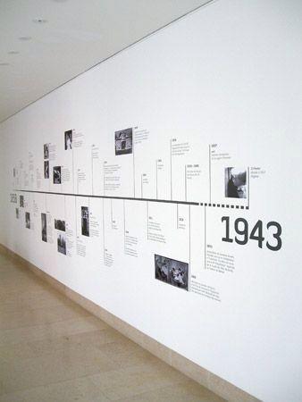 cool timeline design