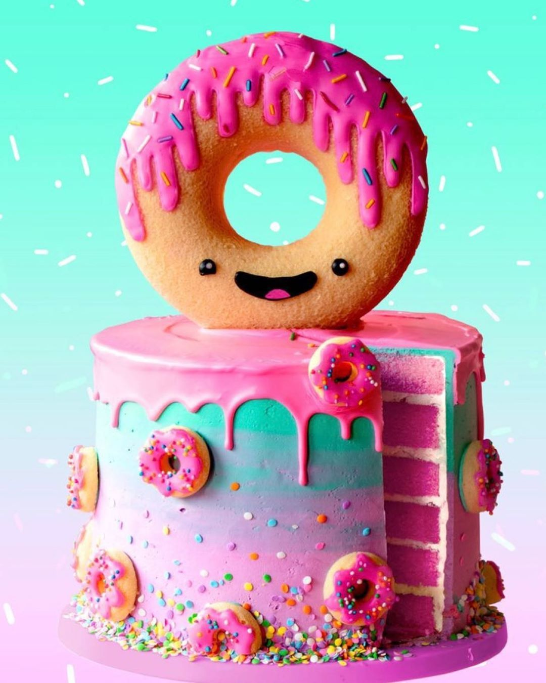 "instagram logo cake design Delicias Bellita on Instagram: ""Un pastel similar (foto"